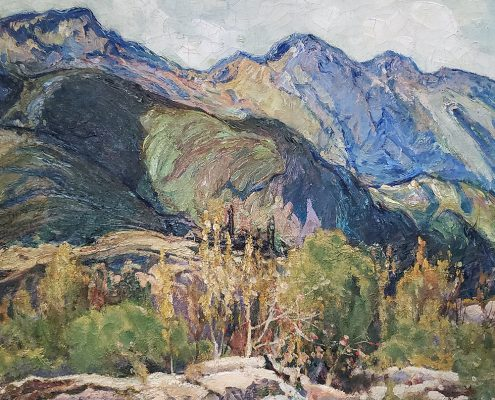 Charles Reiffel, The Abandoned Mine